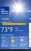 Weather Windows Mobile Phone Application