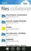 Box Windows Mobile Phone Application