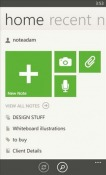 Evernote Nokia Lumia 610 Application