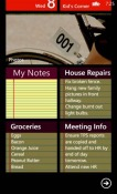 My Notes Nokia Lumia 505 Application
