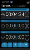 Quick Timer Windows Mobile Phone Application