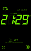 Talking Alarm Clock Nokia Lumia 710 Application