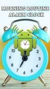 Morning Routine: Alarm Clock HTC Desire 300 Application