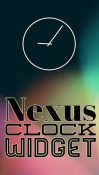 Nexus Clock Widget Android Mobile Phone Application