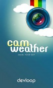 CamWeather Samsung Galaxy Tab S4 10.5 Application