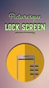 Picturesque Lock Screen Android Mobile Phone Application