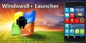 Windows 8+ Launcher Android Mobile Phone Application