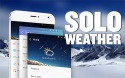 Solo Weather Android Mobile Phone Application