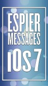 Espier Messages IOS 7 Android Mobile Phone Application