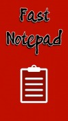 Fast Notepad Android Mobile Phone Application
