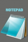 Notepad QMobile NOIR A10 Application