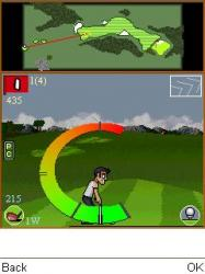 Golf Club Java Mobile Phone Game