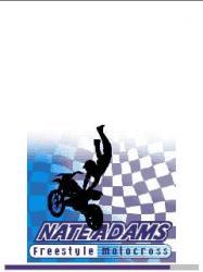 Nateadams Freestyle Motocross Java Mobile Phone Game