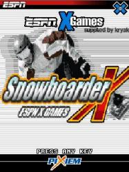 Snowboarder X Java Mobile Phone Game