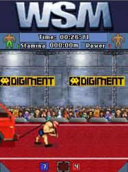 World Strongest Man Java Mobile Phone Game
