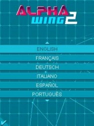 Alpha Wing 2 Java Mobile Phone Game