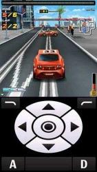 3D Street Rail Racing Game Java Mobile Phone Game