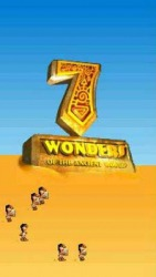 Java Mobile Phone Game: 7 Wonders