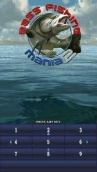 Bass Fishing Mania 2 Java Mobile Phone Game