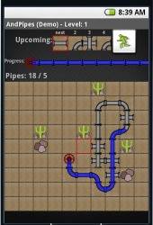 AndPipes Android Mobile Phone Game