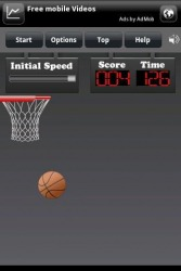 FingerBasketBall Android Mobile Phone Game