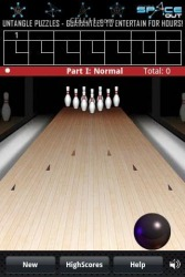 FingerBowling Android Mobile Phone Game