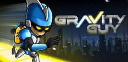Gravity Guy Android Mobile Phone Game