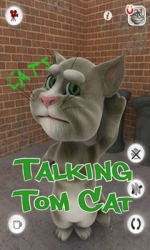 Android Mobile Phone Game: Talking Tom Cat