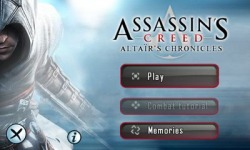 Android Mobile Phone Game: Assassin's Creed