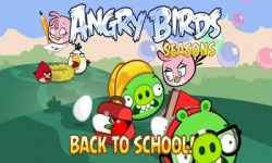 Angry Birds Seasons Back To School Android Mobile Phone Game