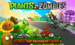 Plants vs Zombie Android Mobile Phone Game