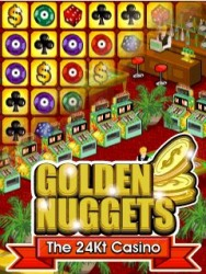 Java Mobile Phone Game: Golden Nuggets The 24Kt Casino