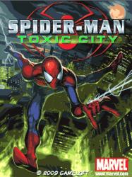 Spiderman Toxic City Java Mobile Phone Game