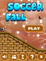 Soccer Fall Java Mobile Phone Game