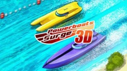 Powerboats Surge 3D Java Mobile Phone Game