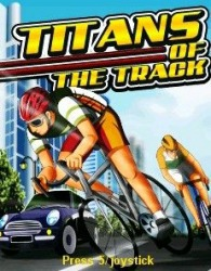 Titans of the Track Java Mobile Phone Game