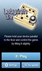 Labyrinth Lite Android Mobile Phone Game
