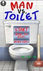 Man Vs Toilet