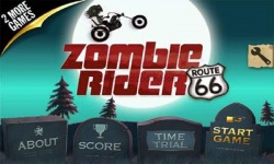 Zombie Rider Android Mobile Phone Game