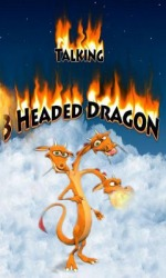 Talking 3 Headed Dragon Android Mobile Phone Game