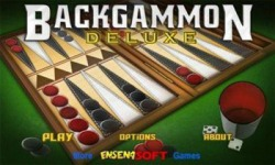 Backgammon Deluxe Android Mobile Phone Game