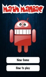 Math Maniac Android Mobile Phone Game