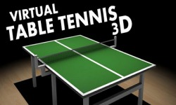 Virtual Table Tennis 3D Android Mobile Phone Game