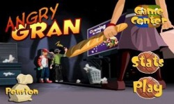 Angry Gran Android Mobile Phone Game