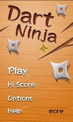Dart Ninja Android Mobile Phone Game