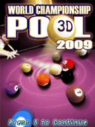 World Championship Pool 2009 3D LG T375 Cookie Smart Game
