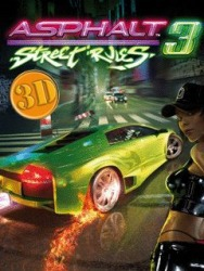 Java Mobile Phone Game: Asphalt: Street Rules 3 3D