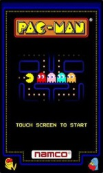Android Mobile Phone Game: PAC-MAN by Namco