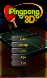 iPing Pong 3D Android Mobile Phone Game