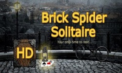 Brick Spider Solitaire Android Mobile Phone Game